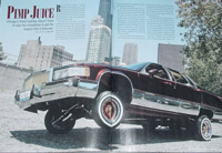 Picture taken of the centerfold until we get the original from Lowrider Magazine!