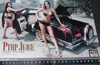 Lowrider of the Month - Picture taken of the centerfold until we get the original from Lowrider Magazine!