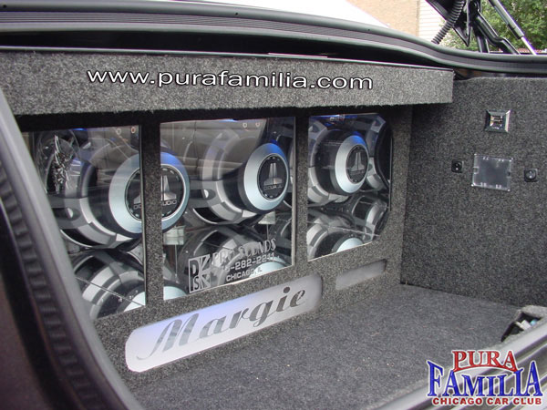 3 JL Audio W6's V2 in a custom box by ProSounds
