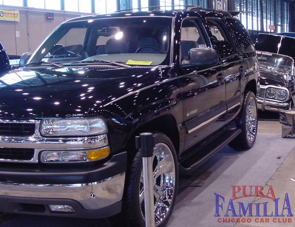 Rene's 2002 Chevy Tahoe with 24 inch wheels