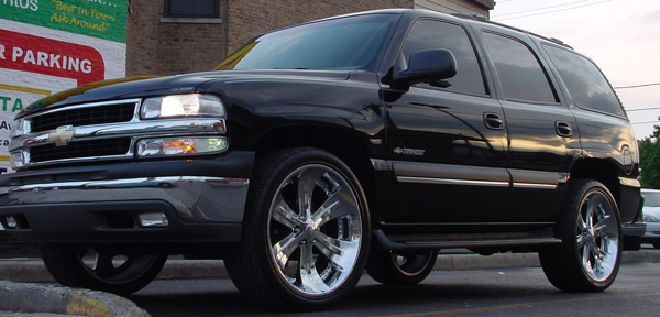 Rene's bad 2002 Tahoe...